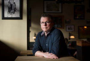VANCOUVER, BC - MARCH 16, 2016, - Peter Darbyshire in Vancouver, BC. March 15, 2016. Darbyshire for a book review of his new book, written under the pseudonym Peter Roman (Arlen Redekop / PNG photo) (story by Tracy Sherlock) [PNG Merlin Archive]